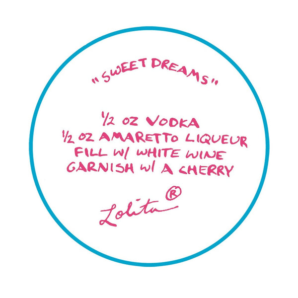 Sweet Dreams Wine Glass by Lolita®