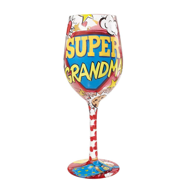 Super Grandma Wine Glass by Lolita®