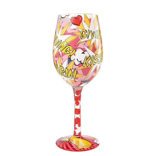 Super Mom Wine Glass by Lolita®