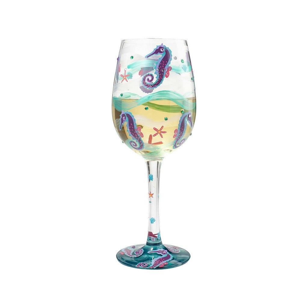 Seahorse Wine Glass by Lolita®
