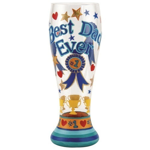 Best Dad Ever Pilsner Glass by Lolita®