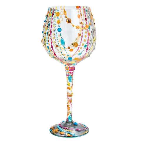 Radiance Super Bling Wine Glass by Lolita®