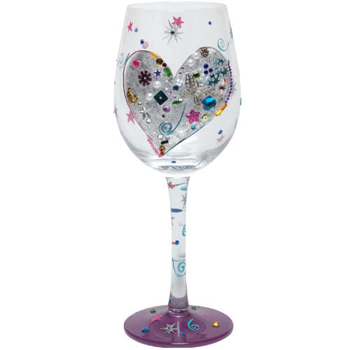 Silver Lining Wine Glass by Lolita®