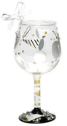 Celebration Mini Wine Ornament by Lolita®