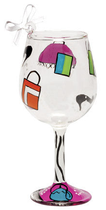 Shopaholic Too Mini Wine Ornament by Lolita®
