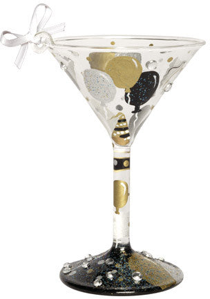 Celebration Mini Martini Ornament by Lolita®