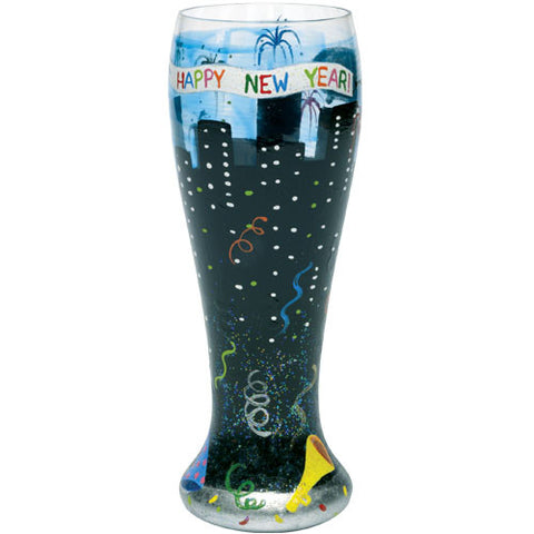 New Year's  Pilsner Glass by Lolita®