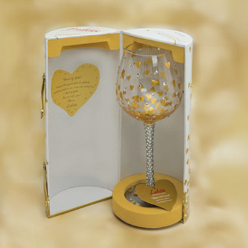 One In A Million Super Bling Wine Glass by Lolita®