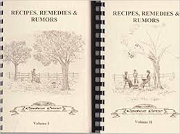 Recipes, Remedies & Rumors by the Cades Cover Preservation Association