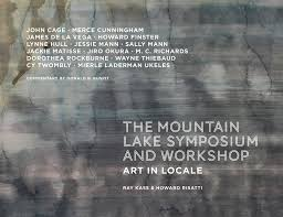 The Mountain Lake Symposium and Workshop: Art in Locale edited by Ray Kass & Howard Risatti.