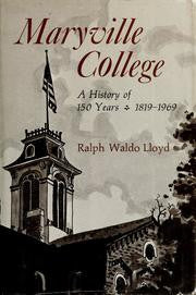 Maryville College by Ralph Waldo Lloyd