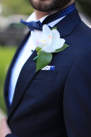Custom Pocket Squares for Groomsmen