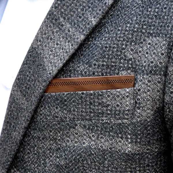 Wapple Wooden Pocket Square
