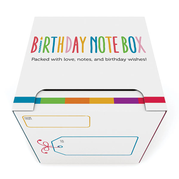 The Birthday Note Box