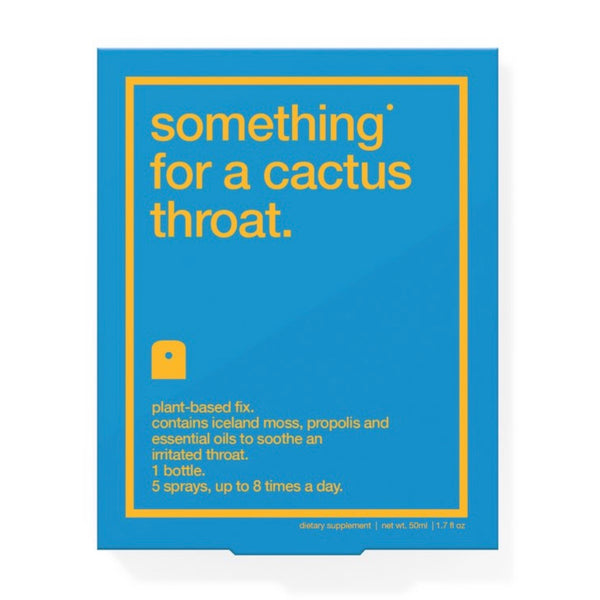 Something For A Cactus Throat