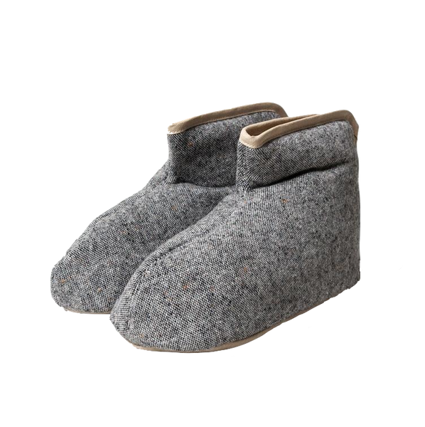 Sasawashi Wool Room Boots Grey MEDIUM