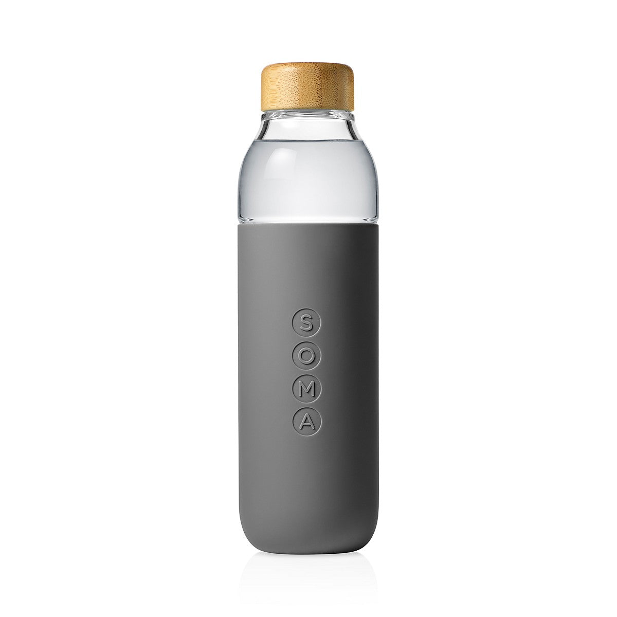 Grey Soma Glass Bottle