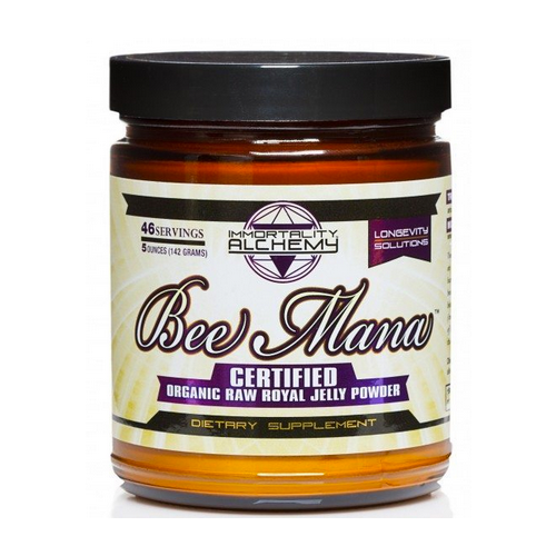 Bee Mana - Organic Raw Royal Jelly Powder