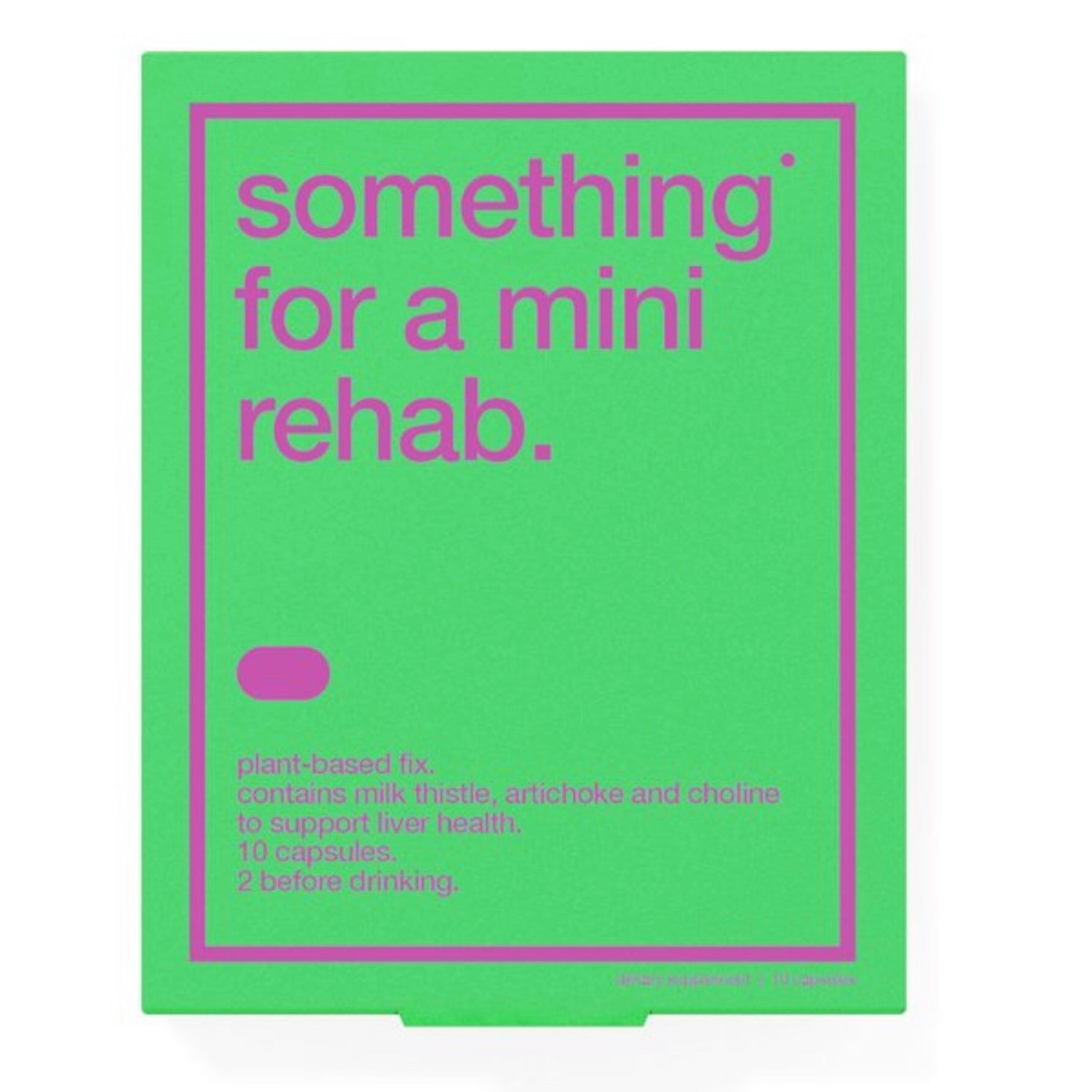 BIOCOL // SOMETHING FOR A MINI REHAB
