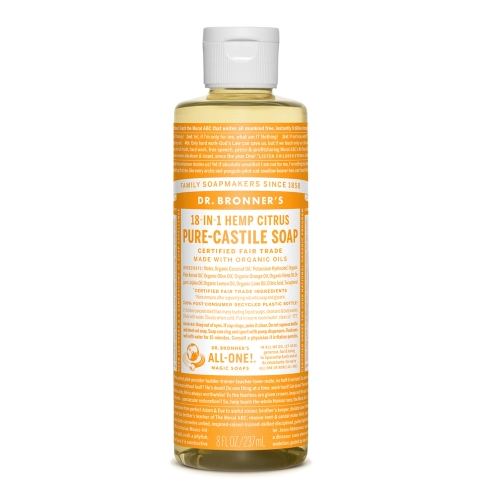 Castile Liquid Soap Citrus