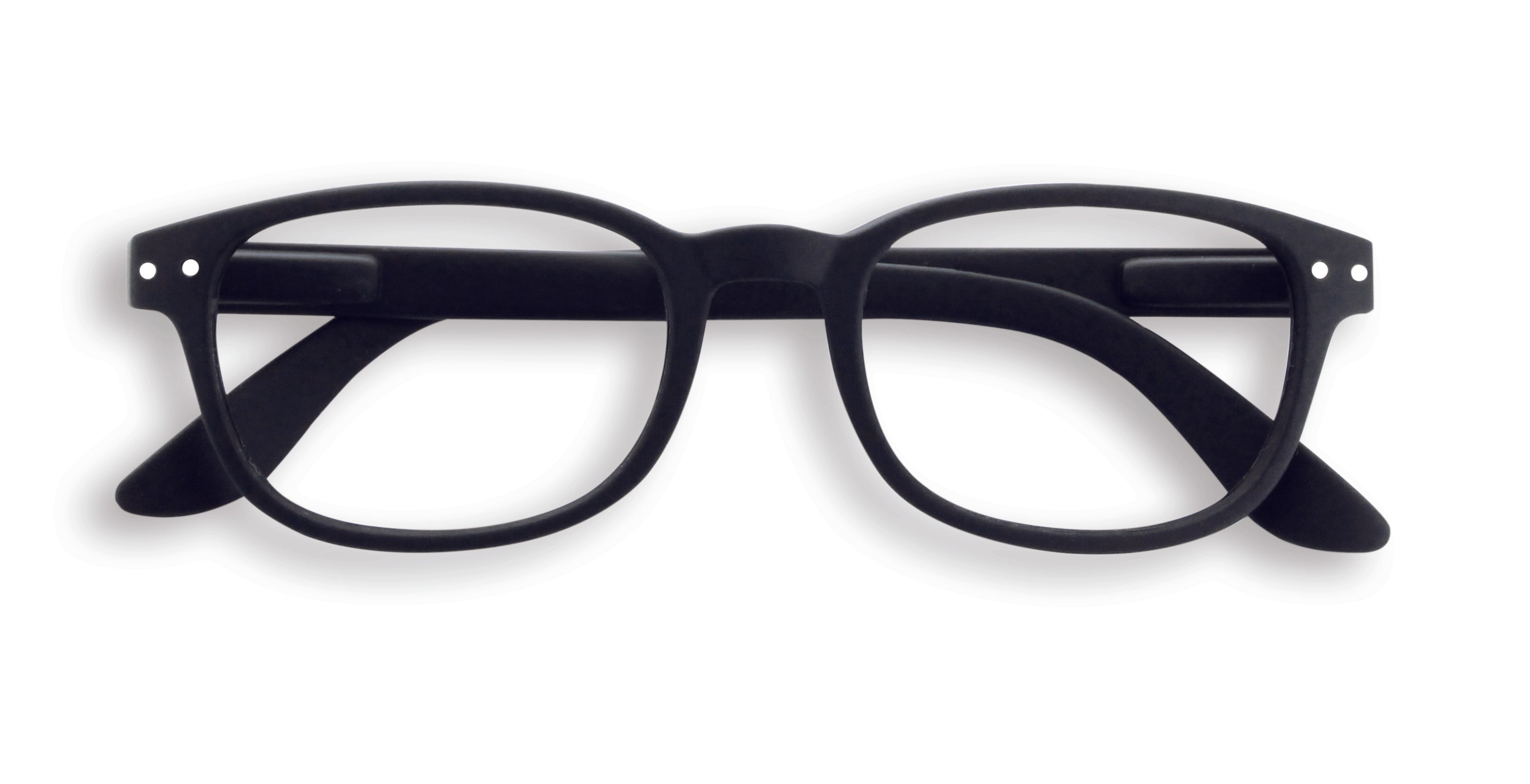 Reading Glasses #B Black Soft +2.5