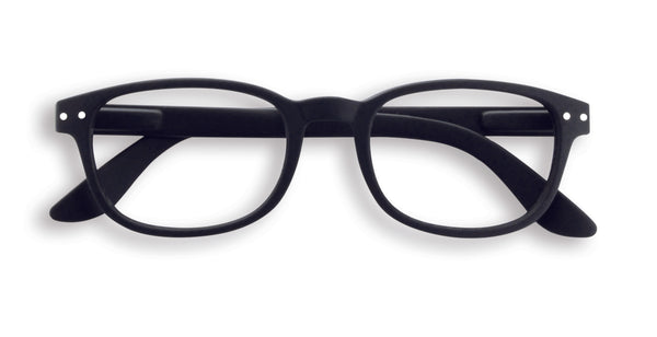 Reading Glasses #B Black Soft +1.5