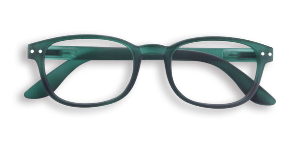 Reading Glasses #B Green Crystal +1