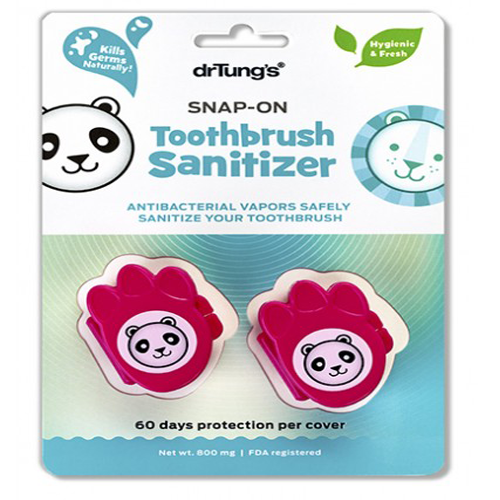 Kids Snap-On Toothbrush Sanitizer