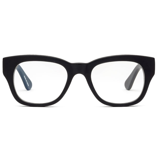1.50 Matte Black Reading Glasses CADDIS Miklos