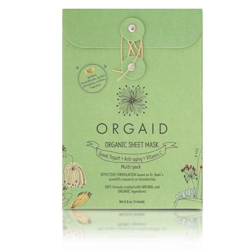 Assorted Multi pack Organic Sheet Masks - 6 Sheets
