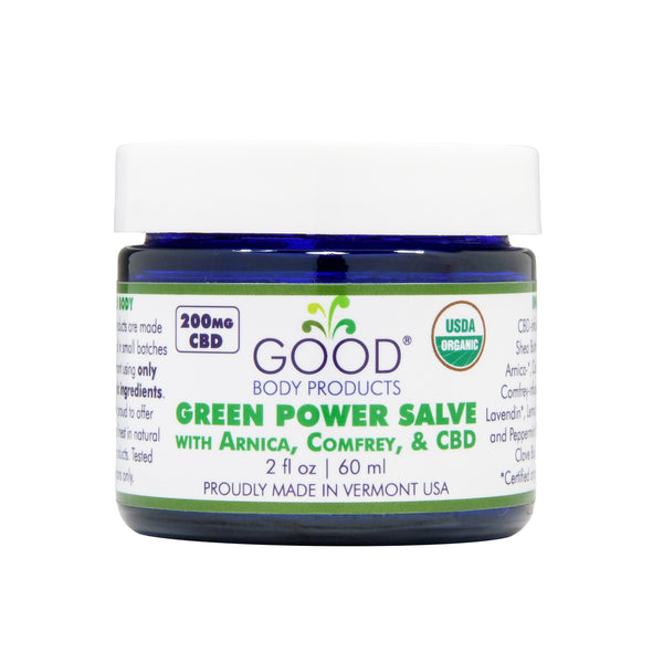 Green Power Salve with CBD