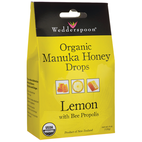 Organic Manuka Honey Lemon Drops