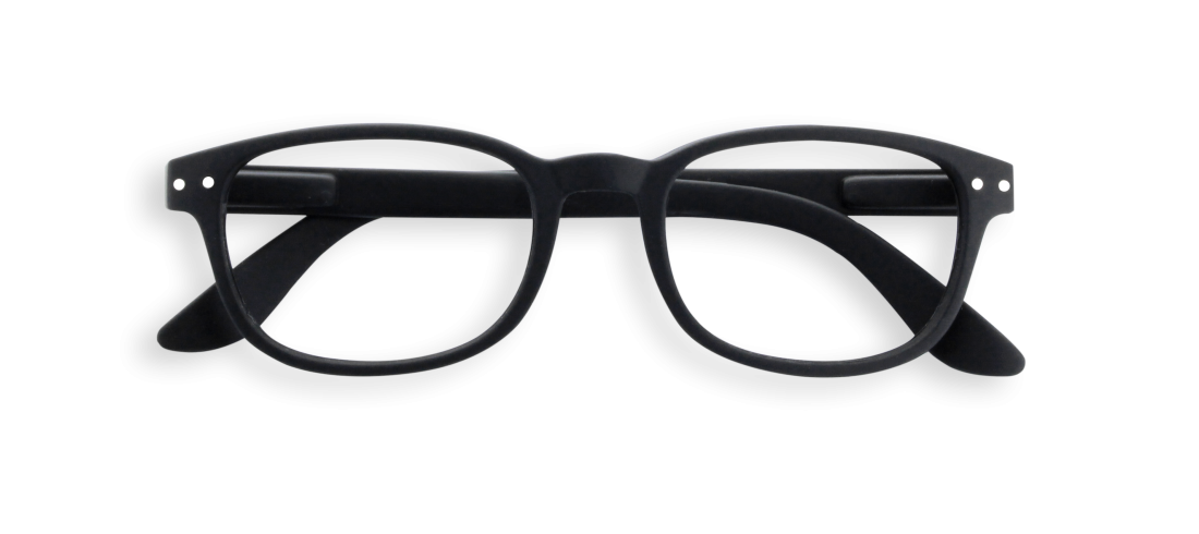Reading Glasses #B Black Soft 1