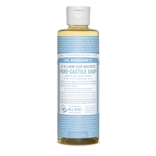 Castile Liquid Soap Baby Unscented