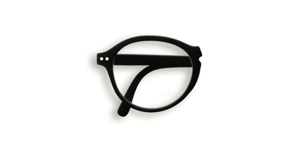 Reading Glasses #F Black Soft 1