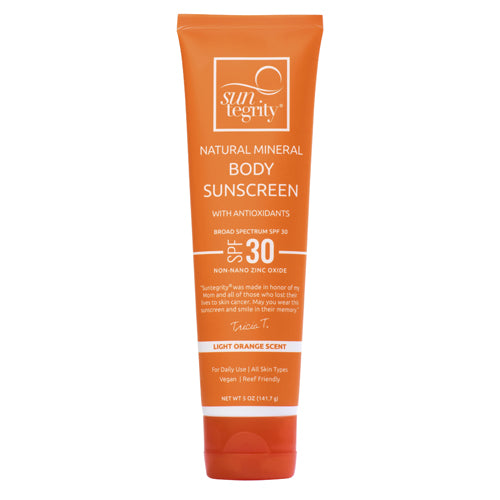 SPF 30 Natural Mineral Sunscreen FOR BODY