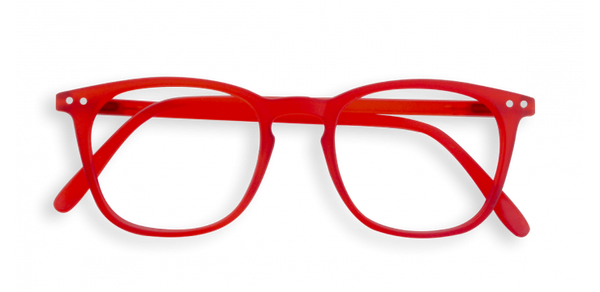 Reading Glasses #E Red Crystal Soft 2