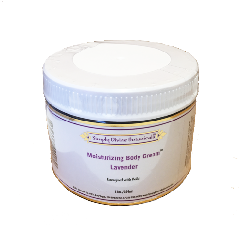 Lavender Moisturizing Body Cream