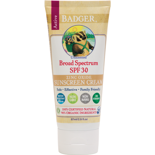 SPF 30 Active Sunscreen Unscented