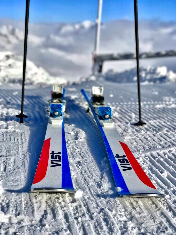 The beauty of VIST skis