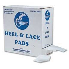 Cramer Heel and Lace Pads, 3x3
