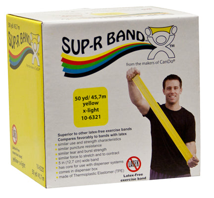 Sup-R Band Latex-Free Band 50yd