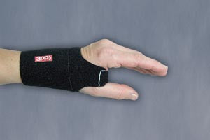 3Point Wrist Wrap Black