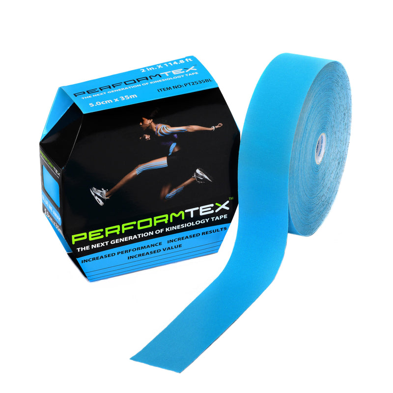 "Performtex PT Cotton K Tape Bulk Roll, 2""x35m"