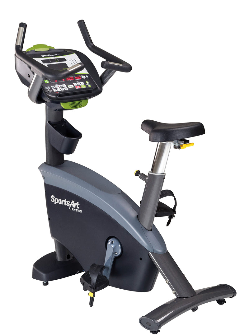 SportsArt C575U Upright Cycle, Status Series