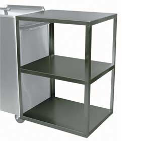 Ideal Rack, Stainless Steel Side Table,  for Hot Pack Tank