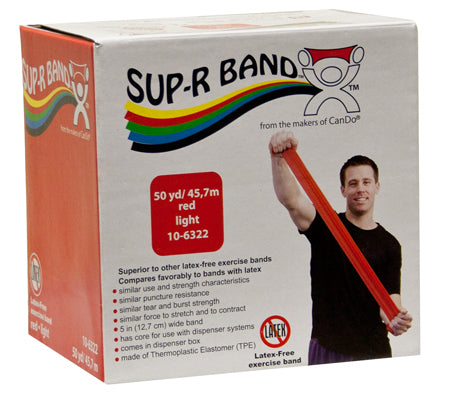 Sup-R Band Latex Free Exercise Band, 50 yard