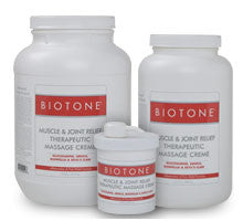 Biotone Muscle Joint Relief Massage Creme - 16 oz