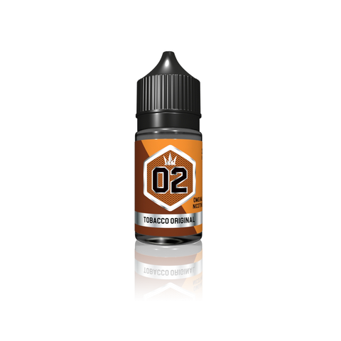 02 - Tobacco Original by Crown - Vapebrands E-Liquid - e-liquid