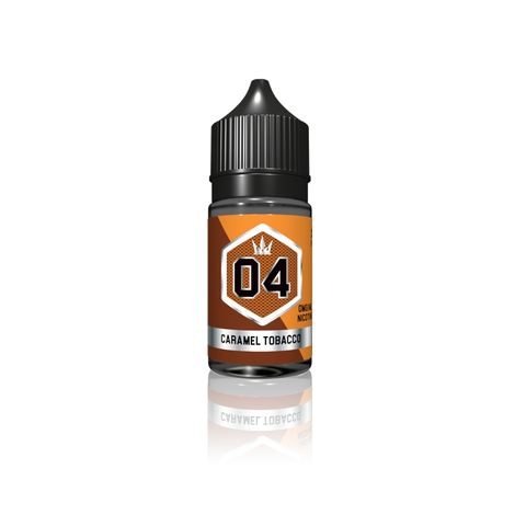 04 - Caramel Tobacco by Crown - Vapebrands E-Liquid - e-liquid